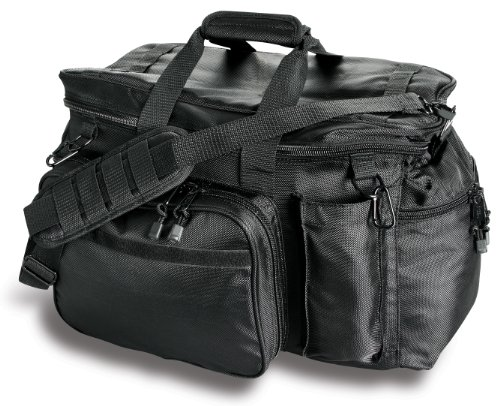 Uncle Mike's Law Enforcement Side-Armor Patrol and Sportsmen's Equipment Bag, Black