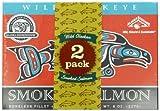 Alaska Smokehouse Smoked Salmon Duo in Foil Original, Sockeye, 16 Ounce