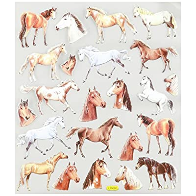 Tattoo King Multi-Colored Stickers-Wild Horses: Arts, Crafts & Sewing