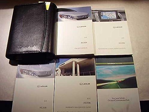 2011 lexus hs250h with navigation system owners manual lexus rh amazon com 2010 Lexus HS 250H Lexus Hybrid Sedan