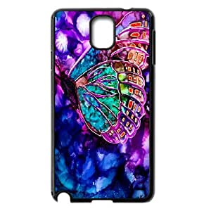 [MEIYING DIY CASE] For Samsung Galaxy NOTE3 Case Cover -Beautiful Butterfly Pattern-IKAI0446680