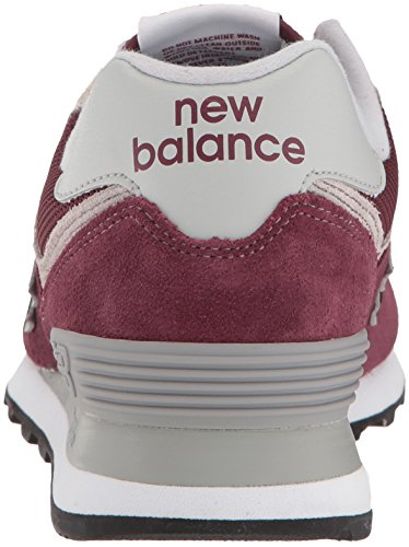 Women's Sneaker Burgundy Iconic New 574 Balance FqwT5T