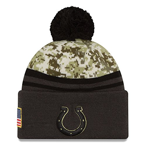 Colts Knit Hats - Indianapolis Colts Salute to Service Knit Hat