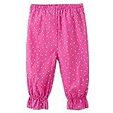 GreatestPAK Baby Girls Floral Printing Loose Pants, Toddler Casual Pants Leggings Trousers Outwear For 2Y—7Y Girl (Hot Pink, 90)