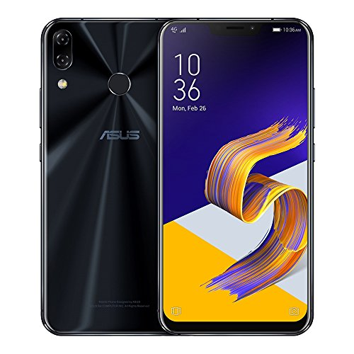 ASUS ZenFone 5 (ZE620KL) 4GB/64GB 6.2-inches Dual SIM Factory Unlocked - International Stock No Warranty (Midnight Blue)