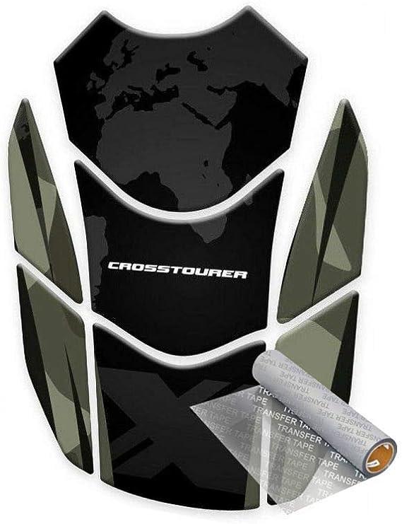 Tankpad Für H Onda Crosstourer Vfr 1200 X 2012 Tarnfarbe Auto