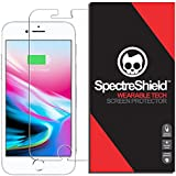 Spectre Shield for iPhone 8 Plus / 7 Plus Screen Protector (Military-Grade) Flexible Full Coverage Ultra HD Clear Anti-Bubble Anti-Scratch Film