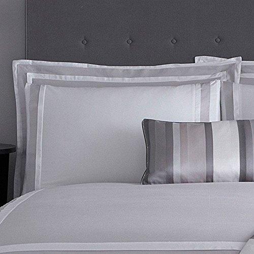 J By Jasper Conran Grey 'Langham' 240 Thread Count Oxford Pillow Case Pair by Debenhams
