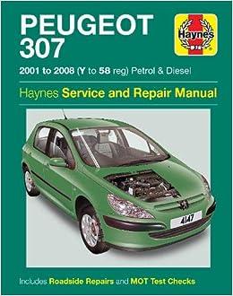 Peugeot 307 Amazon De Haynes Publishing Fremdsprachige Bucher