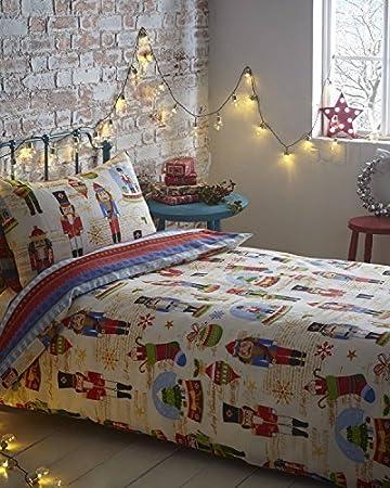 Amazon.com: Christmas Nutcracker Kids Xmas Decorations Stocking ... : nutcracker quilt - Adamdwight.com