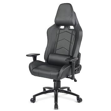 Amazoncom IKAYAA Ergonomic Racing Gaming Chair Office Executive