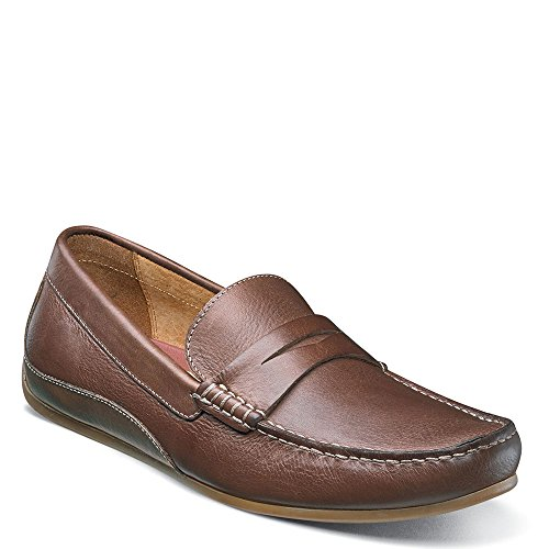 Oval Leather Moc Grain Mushroom Men's Smooth Multi Driving Full Florsheim Cognac Suede Penny 5wAzgxq