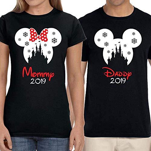 Disney Mickey Very Merry Christmas Party Magic Kingdom Snowflake Family Group Vacation ()