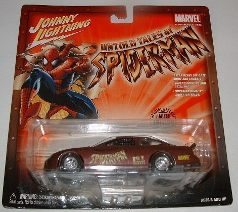 Johnny Lightning Ultimate Marvel Untold Tales of Spider-man #1 '97 Ford Taurus Stock Car die-cast 1:43 scale Limited Edition (Electro Taurus)