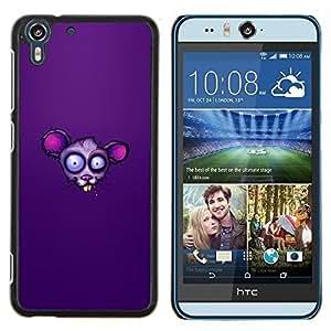 - rat mouse cartoon character eyes - - Modelo de la piel protectora de la cubierta del caso FOR HTC Desire EYE M910x RetroCandy
