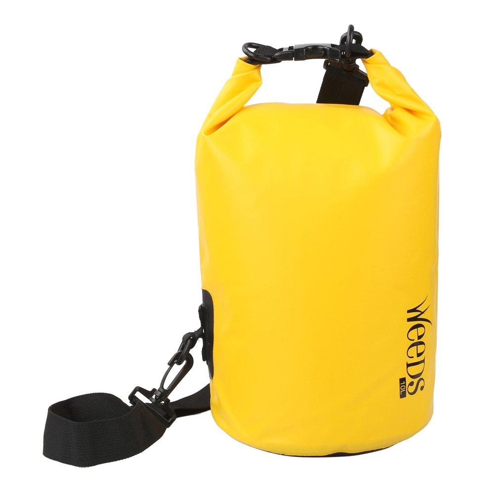 【一部予約!】 水泳ドライバッグ防水ドライバッグロールトップ圧縮袋の水泳ボートカヤックラフティングカヌー、釣り B06XHJ67WD 10L イエロー イエロー 10L B06XHJ67WD 10L|イエロー, 岩出町:5805960c --- albertlynchs.com