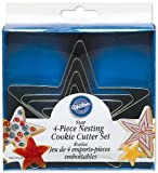 Wilton Stars Nesting Metal Cutter Set