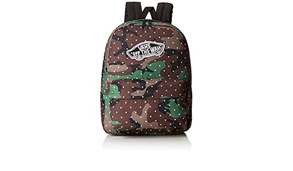 Amazon.com | VANS Realm Backpack Camo Dot School Bag - Vans Backpack V00NZ0KPN | Kids Backpacks