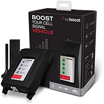 weBoost Drive 4G-M 470108 Vehicle Cell Phone Signal Booster 4G LTE, Cellular Signal Booster Amplifier for Car & Truck, Enhances 4G LTE Cell Phone Signals