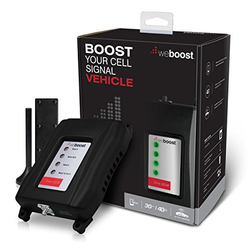weBoost Drive 4G-M (470108)Vehicle Cell Phone Signal Booster 4G LTE - Cellular Signal Booster Amplifier for Car & Truck - Verizon