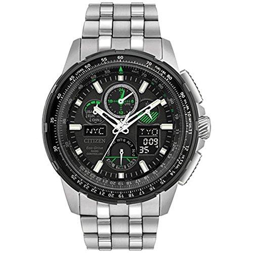 Analog Digital World Time Watch - 4