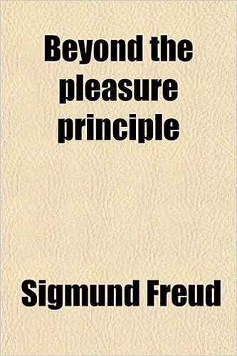 Book reviews on sigmund freuds beyond the pleasure principle galleries 609