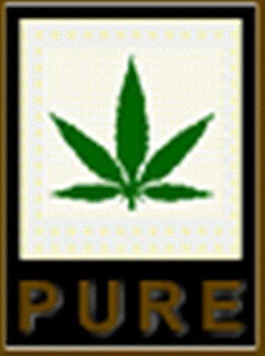 Pure Cáñamo Shopper nbsp;caqui Cannabis 42 Hf022 nbsp;cm Negro pF4wHq