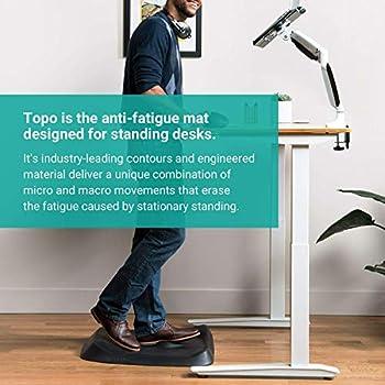 Topo Comfort Mat by ErgodrivenThe Not-Flat Standing Desk Anti-Fatigue Mat