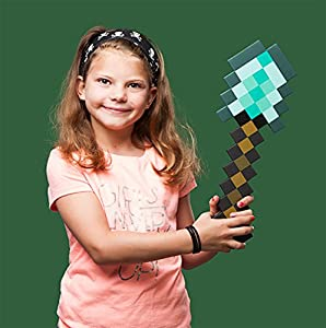 ThinkGeek Minecraft Diamond Shovel - Dig Your Way To Minecraft Success by ThinkGeek