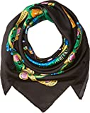 Versace  Men's Print Scarf Black One Size