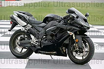 Brillante 2006 - 2007 o ABS carenado Kawasaki ZX-10R Ninja ...