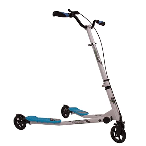 Ajustable 3 ruedas patinete Tri gran empuje alado patinete ...