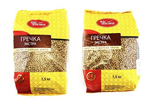 Uvelka Buckwheat Groats Extra Uvelka, 1500 gr by Uvelka