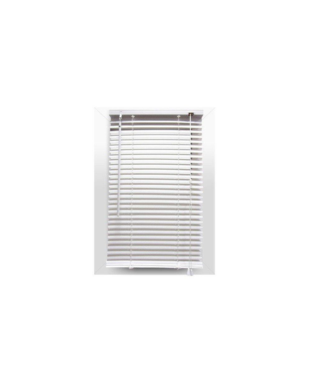 Eminza Venetian Blind 40 x H180 cm PVC White