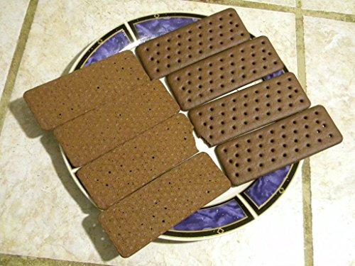 Ice Cream Sandwich Wafers (Chocolate Rectangle Ice Cream Wafer, Case) (Cookie Ice Cream Sandwich)