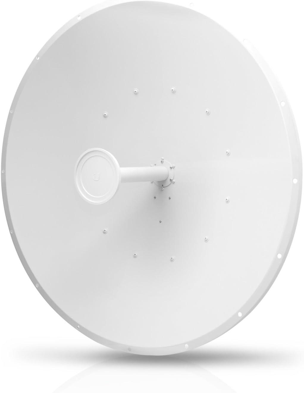 Ubiquiti Networks af-5g34-s45 - Antena (34 dbi, 5.1-5.8 GHz, 3°, 3°, polarización Dual, 1.4:1).