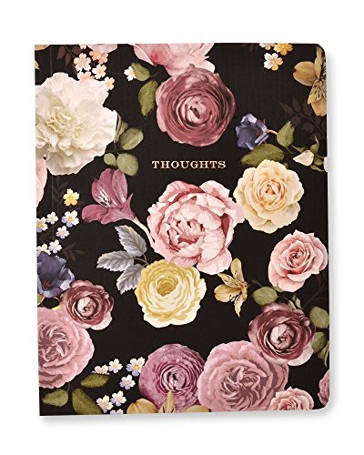 George Stanley Vintage Floral 'Thoughts' Notebook