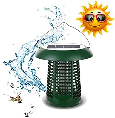Patio jardin Mosquitos Insectos Killer Lámpara Camping Antimosquitos Lámpara Externa Extraíble,carga solar Exterminador Mosquitos Exterior Portátil Impermeable pesca,caza,ciclismo,viajes Verde: Amazon.es: Deportes y aire libre