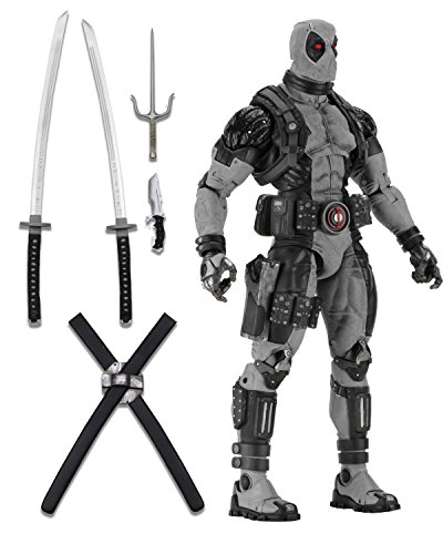 NECA Marvel X-Force Deadpool 1/4 Scale Action Figure