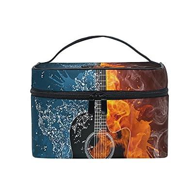 4445ca8732 60%OFF ALIREA Electric Guitar Cosmetic Bag Travel Makeup Train Cases  Storage Organizer