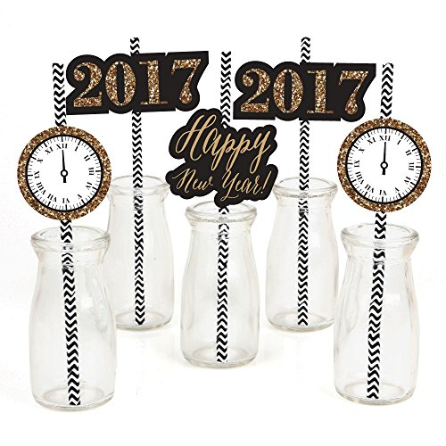 New Years Eve Striped Decorative