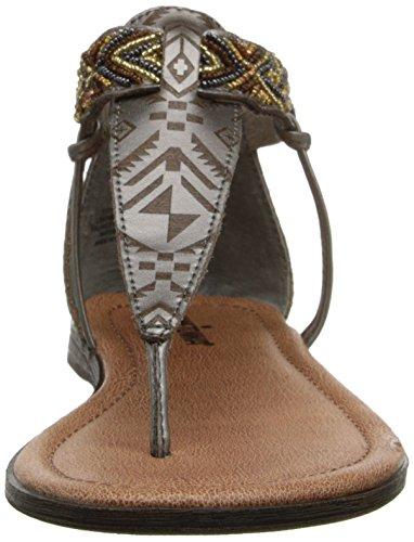Minnetonka Antigua - Zapatos para mujer Silber (Pewter / PWT)
