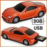 AUTODRIVE オートドライブ USBフラッシュメモリー toyota86 orange トヨタ86 オレンジ USBメモリ 8GB