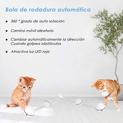 Juguetes para gatos, bola de gato interactiva inteligente,  juguete de ejercicio para gatos y perros 2