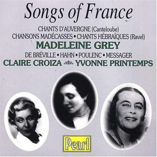 Chants D'Auvergne / Chansons - Madeleine Grey