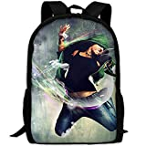 Phyllis Walker Backpack Hip Hop Dance Print Fashion College Double Shoulder Bag Travel Outdoor Camping Crossbody Bags for Men Women