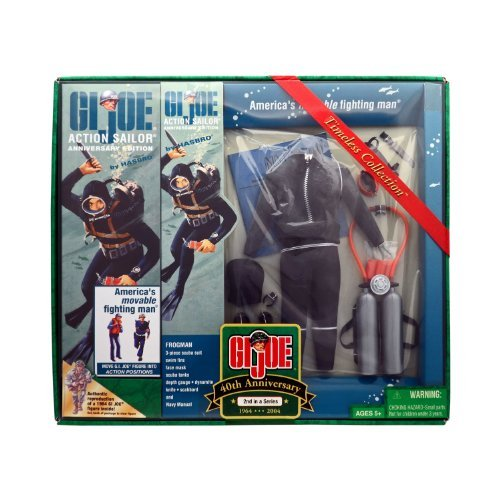 GI Joe 40th Anniversary Action Sailor [Frogman] Set #2
