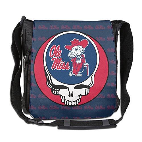 Ole Miss Rebels University Greatful Head Logo Cross Body Shoulder Bag