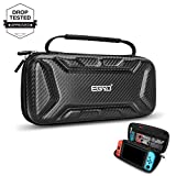 Carrying Case for Nintendo Switch, Titita Carbon Fiber Portable Protective Carry Case
