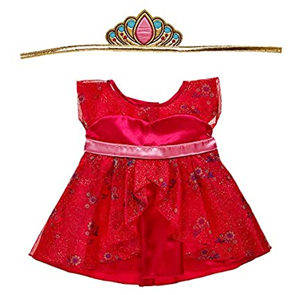 3ad45ada4ac Image Unavailable. Image not available for. Color  Build A Bear Workshop  Disney Elena of Avalor Dress Set 2 pc.